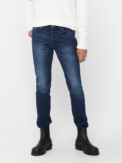 Only & Sons Džinsi 'Loom', krāsa - zils džinss, Modeļa skats