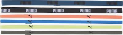 PUMA Sporthoofdband in de kleur Blauw / Groen / Rood / Zwart / Wit, Productweergave
