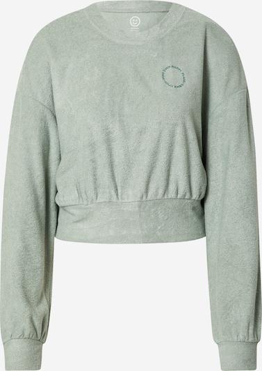 Gilly Hicks Sweat-shirt 'SHRUNKEN' en vert pastel, Vue avec produit
