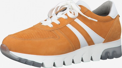 TAMARIS Sneaker low i orange / hvid, Produktvisning