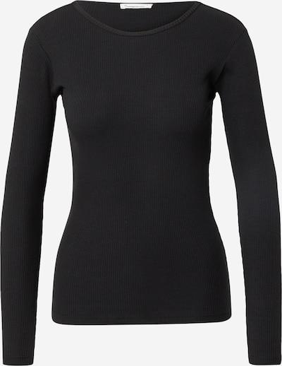 Tricou 'CANNA' KnowledgeCotton Apparel pe negru, Vizualizare produs