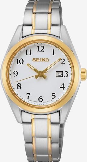 SEIKO Quarzuhr in gold / silber, Produktansicht
