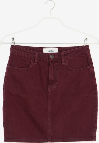 BDG Urban Outfitters Skirt in S in Red