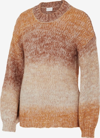 MAMALICIOUS Pullover in Beige