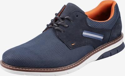 RIEKER Αθλητικό παπούτσι με κορδόνια σε μπλε, Άποψη προϊόντος
