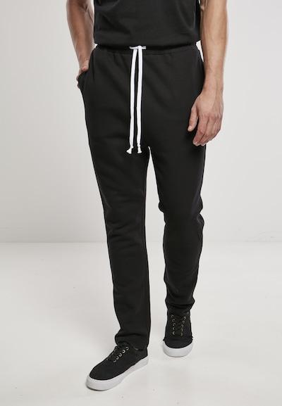 Urban Classics Παντελόνι σε μαύρο, Άποψη μοντέλου