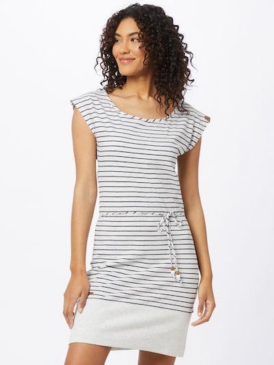 Ragwear Kleid 'Soho' in nachtblau / weiß, Modelansicht