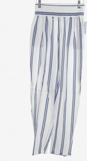 Sabo Stoffhose in XS in blau / weiß, Produktansicht