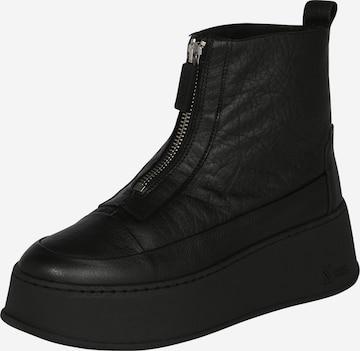 Sneaker înalt 'BX 1701-bumpp-in' de la BRONX pe negru