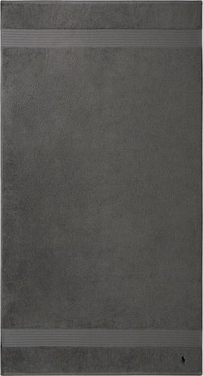RALPH LAUREN Duschtuch 'Polo Player' in grau / schwarz, Produktansicht