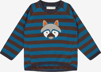 Sense Organics Sweatshirt in blau / braun, Produktansicht