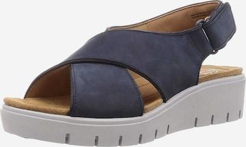 CLARKS Sandale in Blau