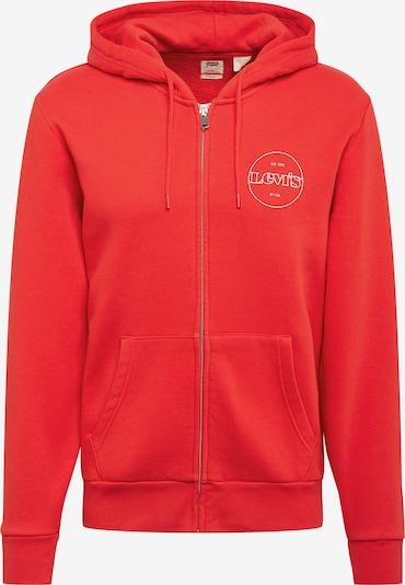 LEVI'S Mikina s kapucí - červená / bílá, Produkt