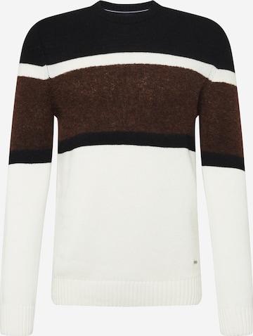 JOOP! Sweter 'Paulino' w kolorze biały