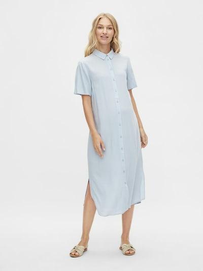 MAMALICIOUS Shirt Dress in Pastel blue, View model