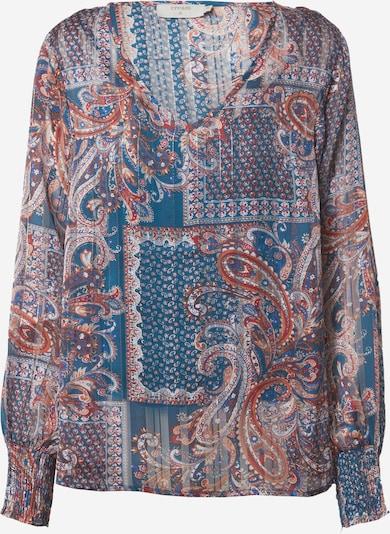 Cream Bluse 'Sheena' in blau / dunkelorange / dunkelrot / weiß, Produktansicht