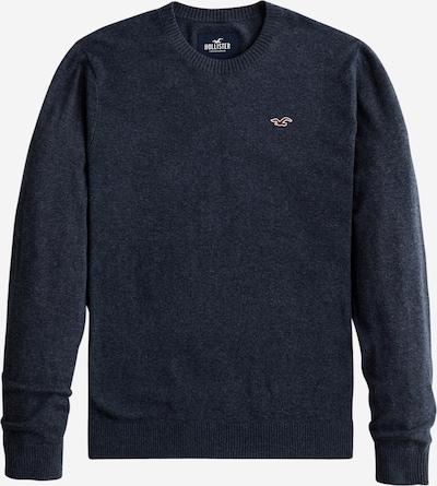 HOLLISTER Sweter w kolorze nakrapiany niebieskim: Widok z przodu