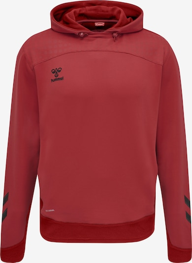 Hummel Sportsweatshirt in de kleur Rood / Zwart, Productweergave