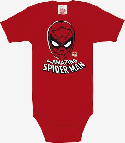 LOGOSHIRT Baby-Body in rot, Produktansicht