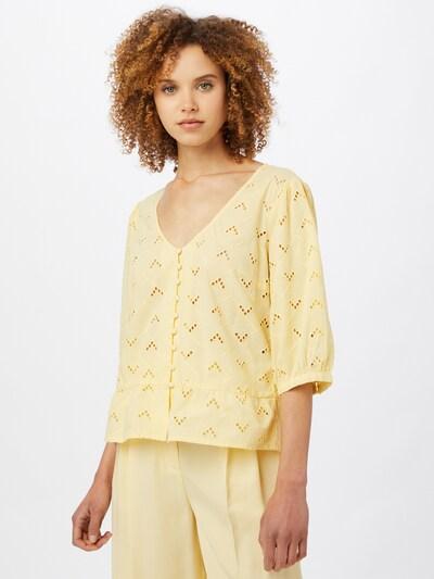 VILA Bluza 'Silje' u svijetložuta, Prikaz modela