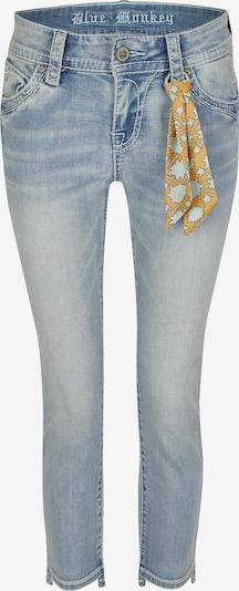Blue Monkey 7/8 Jeans Charlotte in blau, Produktansicht
