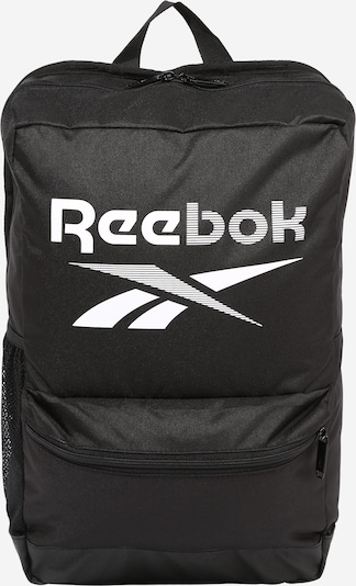 REEBOK Sporta mugursoma melns / balts, Preces skats