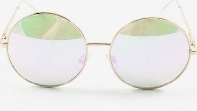 H&M runde Sonnenbrille in One Size in gold, Produktansicht