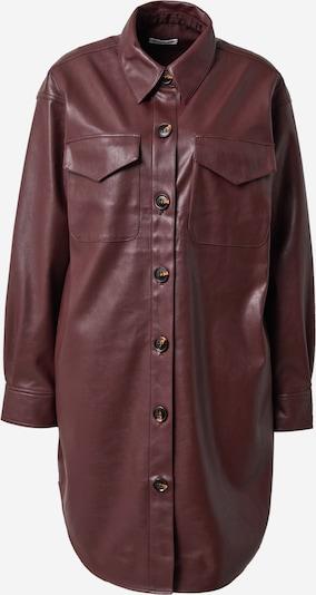 Rochie tip bluză 'Marie' Designers Remix pe roșu burgundy, Vizualizare produs