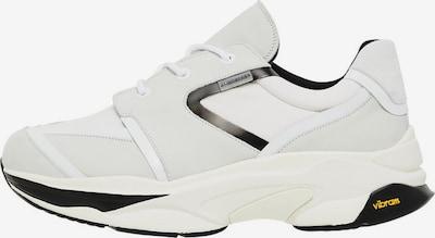 J.Lindeberg Sportschoen in de kleur Zwart / Wit: Vooraanzicht