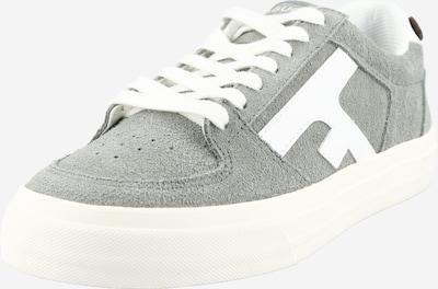 FAGUO Baskets basses 'WALNUT' en gris / blanc, Vue avec produit