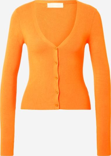 LENI KLUM x ABOUT YOU Cardigan 'Vicky' en orange, Vue avec produit