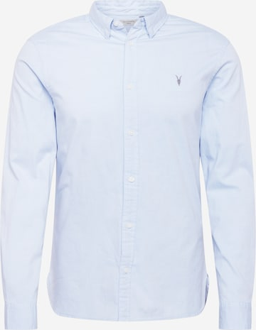 AllSaints Hemd in Blau