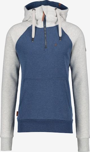 Alife and Kickin Sweatjacket in blau / weiß, Produktansicht