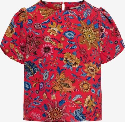 KIDS ONLY Bluse 'FRIDA' in hellblau / dunkelblau / senf / cranberry, Produktansicht