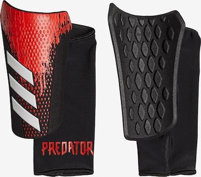 ADIDAS PERFORMANCE Schienbeinschoner in rot / schwarz, Produktansicht
