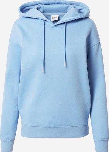 Urban Classics Sweat-shirt en bleu clair, Vue avec produit