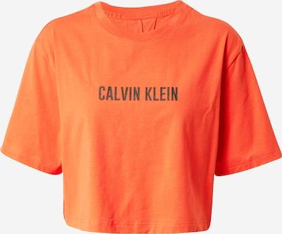 Calvin Klein Performance T-Shirt in dunkelorange / schwarz, Produktansicht