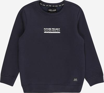 Cars Jeans Sweatshirt in de kleur Navy / Wit, Productweergave