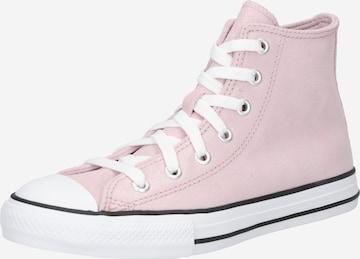CONVERSE Sneaker 'CTAS HI' in Pink