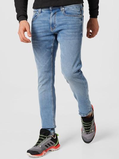 EDC BY ESPRIT Jeans in blue denim / hellblau, Modelansicht