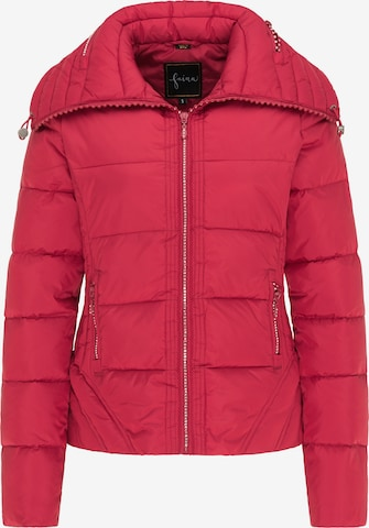faina Winter Jacket in Red