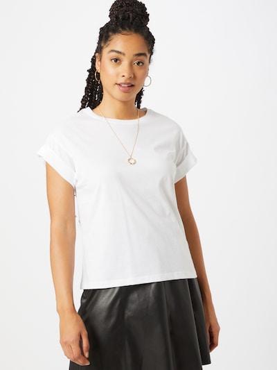 ONLY T-shirt en blanc, Vue avec modèle
