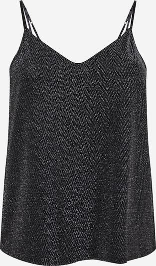 Z-One Top 'Elly' w kolorze czarny / srebrnym, Podgląd produktu