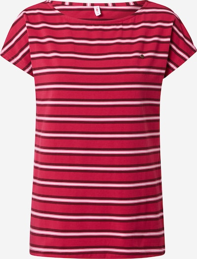 Blutsgeschwister Shirt in pink / pitaya / dark red / white, Item view