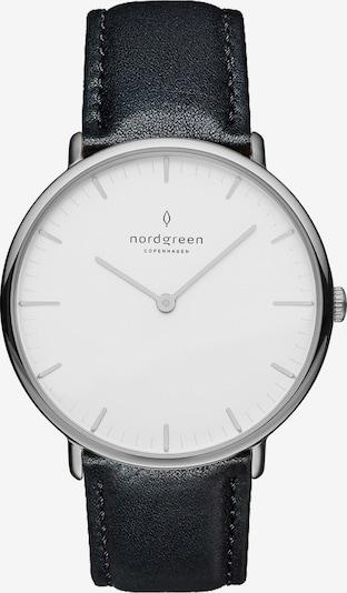 Nordgreen Analog Watch in Black / Silver / White, Item view