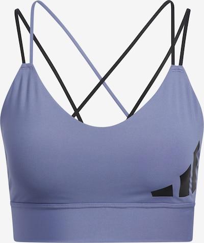 ADIDAS PERFORMANCE Sport-BH in helllila / schwarz, Produktansicht