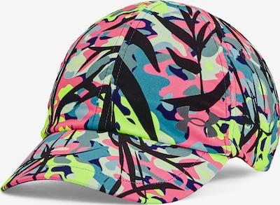 UNDER ARMOUR Sportpet in de kleur Neongroen / Neonroze / Zwart, Productweergave