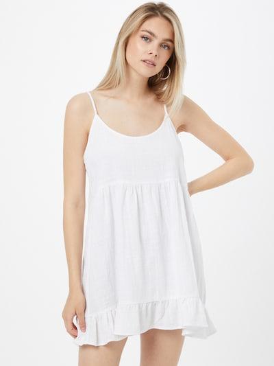 Cotton On Kleid in weiß, Modelansicht