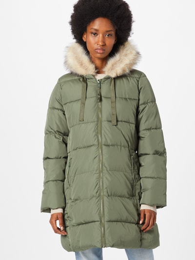 GAP Manteau d'hiver en vert, Vue avec modèle
