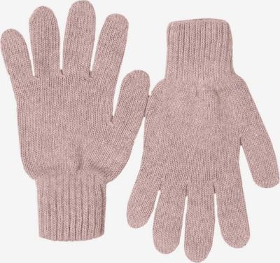 Zwillingsherz Handschuhe in altrosa: Frontalansicht